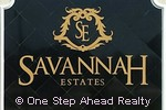 Savannah Estates community sign